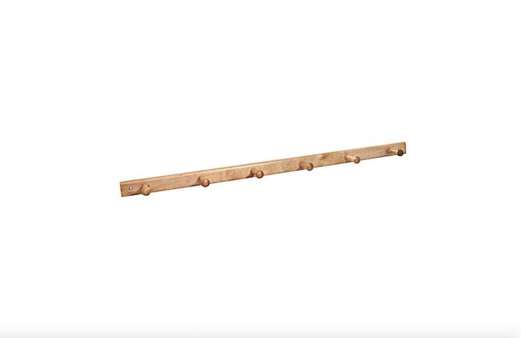 InterDesign maple and birch peg rail