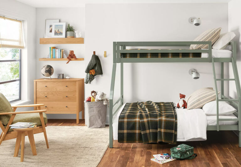 Room & Board Bunk Beds in Situ