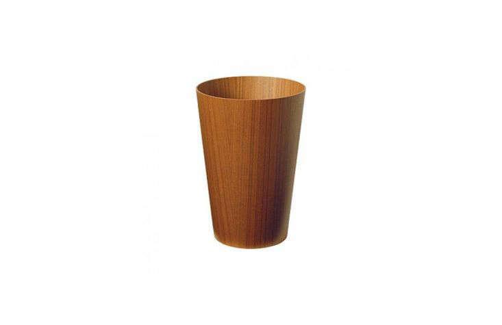 Saito Wood Wastebasket from Dwell Store