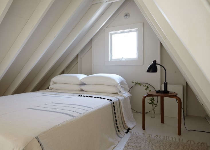 Small White Bedroom Fire Island