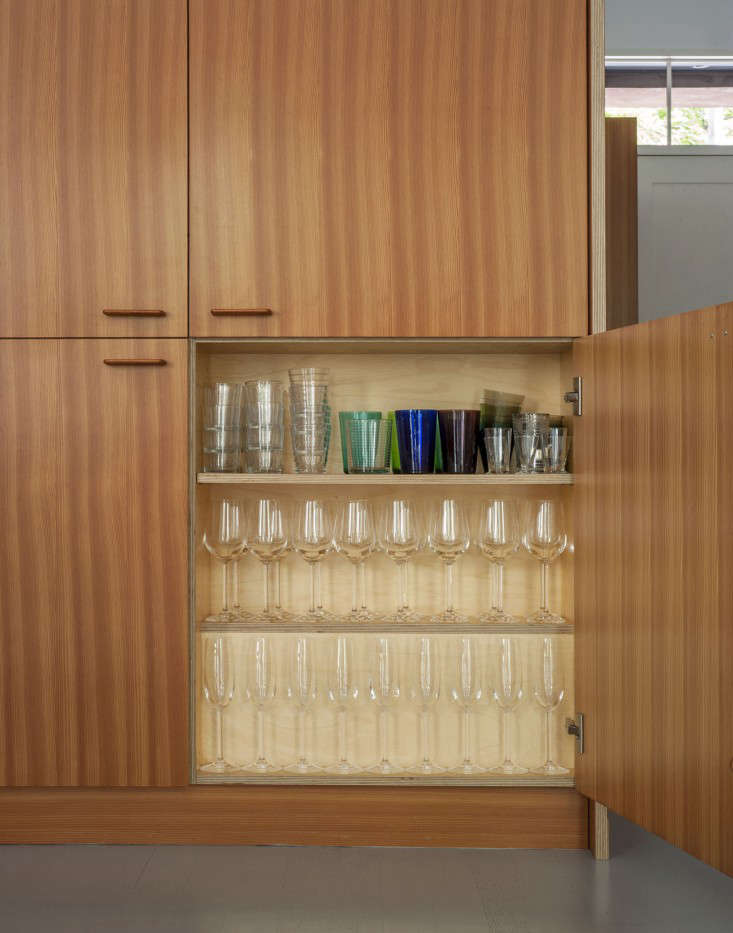 Custom Douglas fir kitchen cabinet in a Brooklyn-town-house-remodel by Fernlund-and-Logan   Remodelista