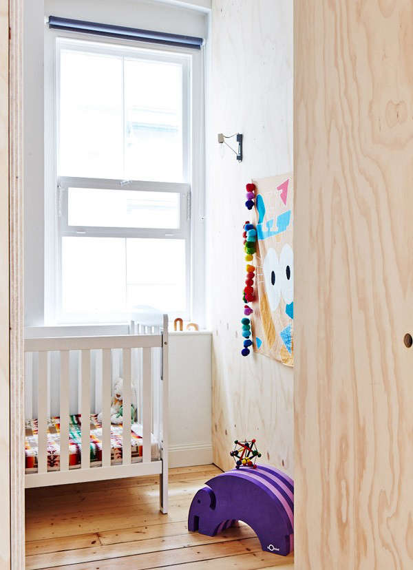 The cube within the cube: the child's room.