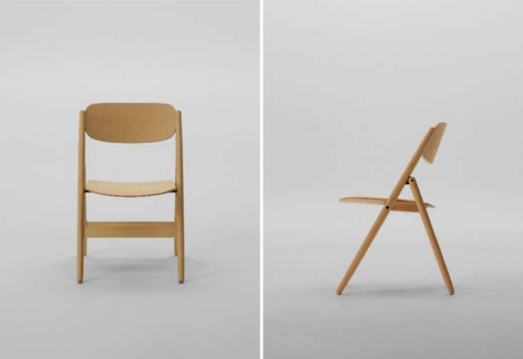 Designed by Naoto Fukasawa, theFolding Chair is $1,200 CAD ($940 USD) from Mjölk.