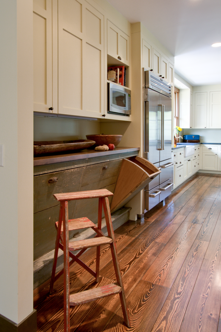 Having a dedicated waste-sorting station in your home encourages proper and robust recycling. Here, homeowners repurposed drawers from an old grain bin in a country store into a family recycling center. SeeThe Architect Is In: Romancing the Country in Nashville, Music and Porches Included.Photograph by Ruth andMarcus Di Pietro.