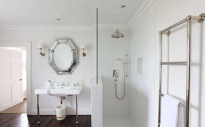 Sussex Bathroom with Towel Warmer