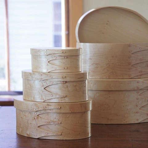 Birdseye Shaker Boxes