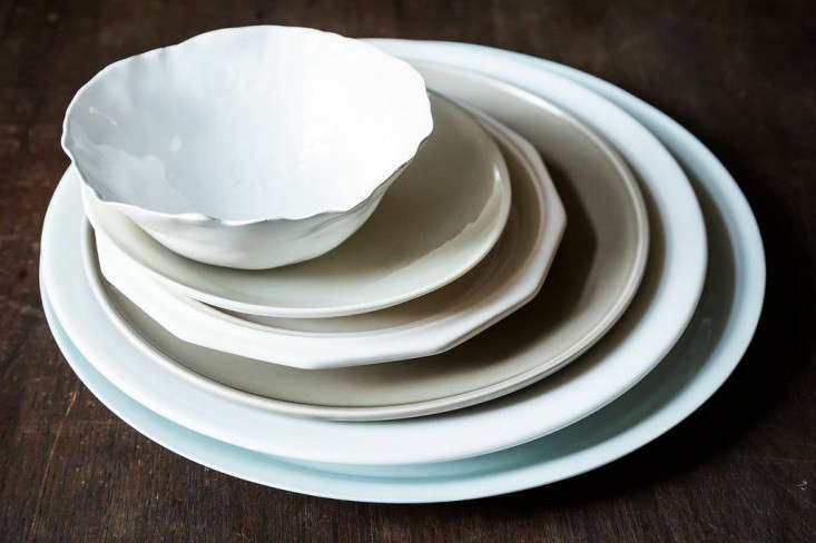 Dare to mismatch; if you're having a crowd, you'll probably need to marshal all your plates.