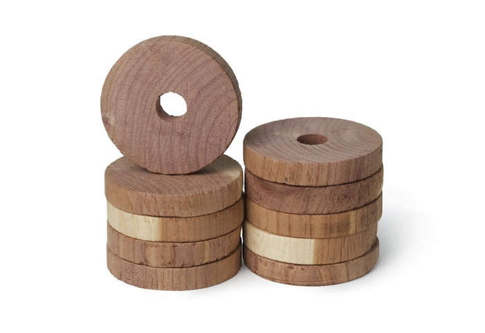 Cedar rings from Redecker | Remodelista