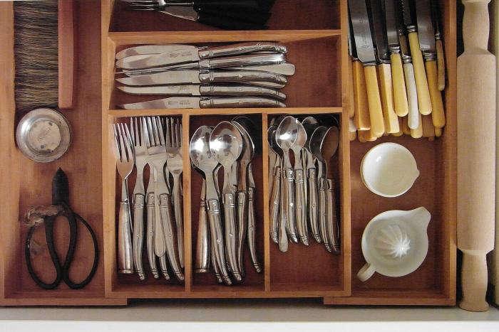 Drawer in Kara Rosenlund's Queensland Cottage Kitchen