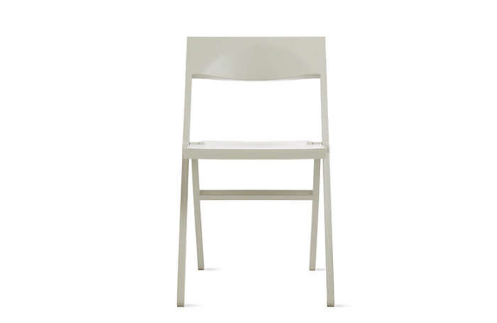 The Piana Folding Chair, designed by David Chipperfield for Alessi, is available in four colors; $250 at Design Within Reach.