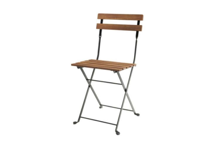 The Tärnö Folding Chair is $15 at Ikea.