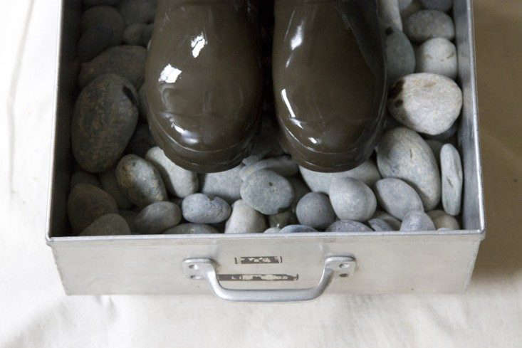 SeeDIY: Rolling Boot Tray for a Mini Mudroom for materials and step-by-step directions. Photograph by Erin Boyle.