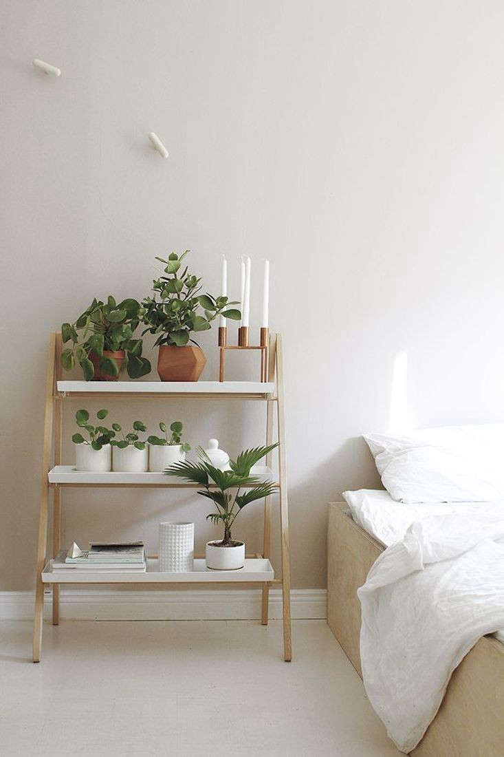 10 Easy Pieces Stepladder Plant Stands The Organized Home