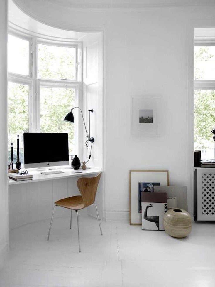 Danish Apartment Window Desk Niche