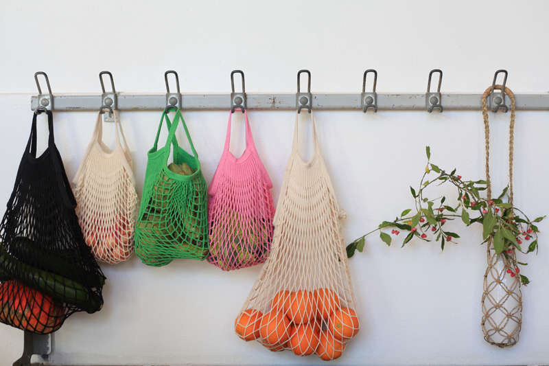 French string shopping bags from Le Reperes des Belettes | Remodelista