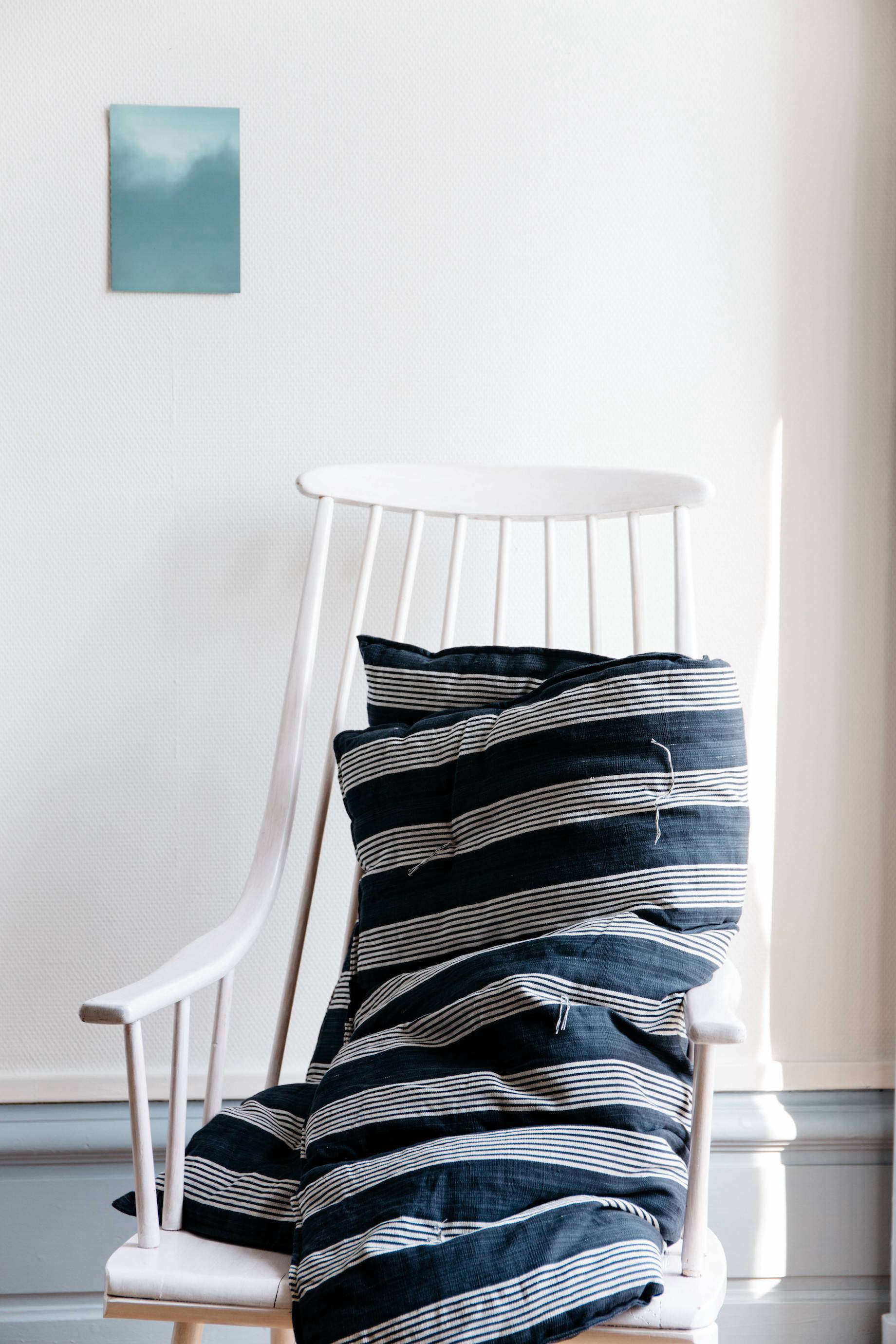Matelas striped overlay mattress from online shop Le Reperes des Belettes | Remodelista
