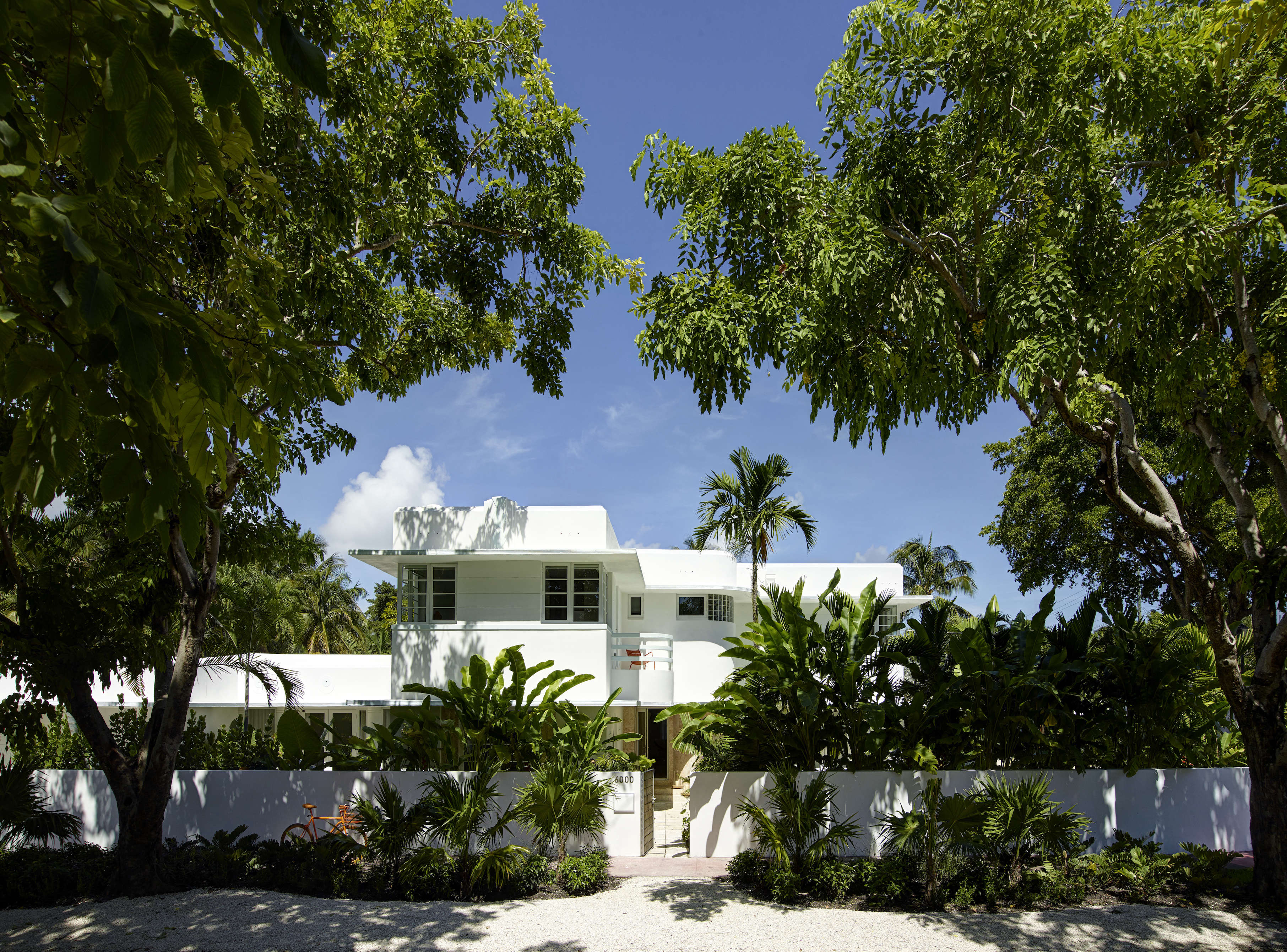 Revived 1932 Miami art deco villa belonging to contemporary furniture dealer Stephan Weishaupt of Avenue Road, Richard-Powers photo   Remodelista
