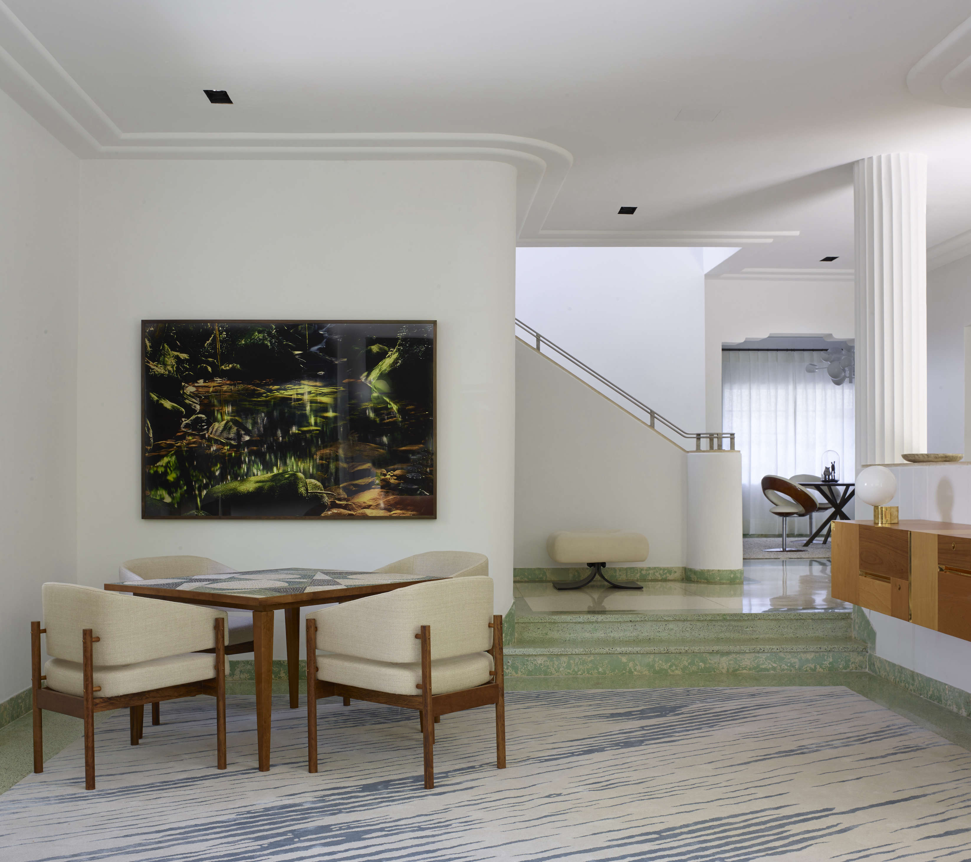 At home in a revived 1932 Miami villa with contemporary furniture dealer Stephan Weishaupt of Avenue Road, Richard-Powers photo   Remodelista