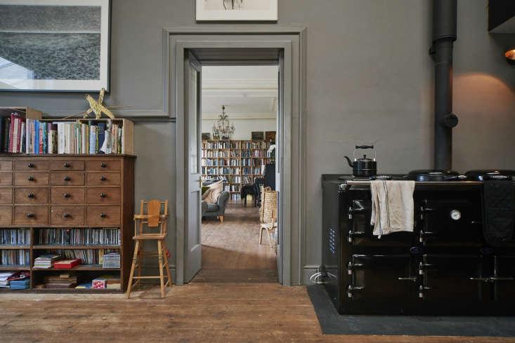 Niki Turner Stroud Kitchen with Black Oven