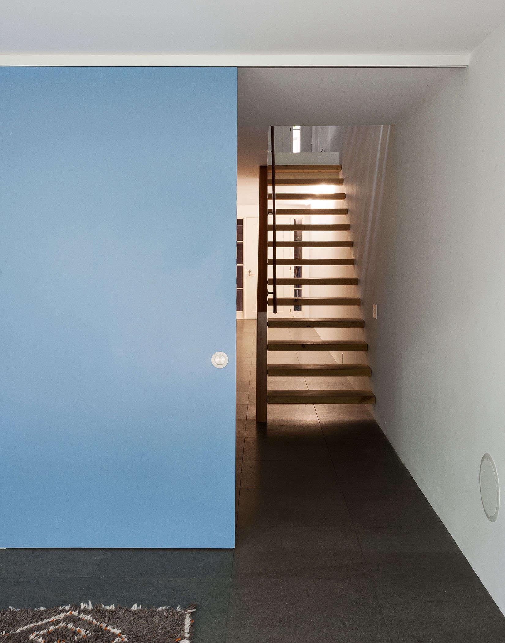 Brooklyn-town-house-remodel-sliding-door-Fernlund-and-Logan-Remodelista