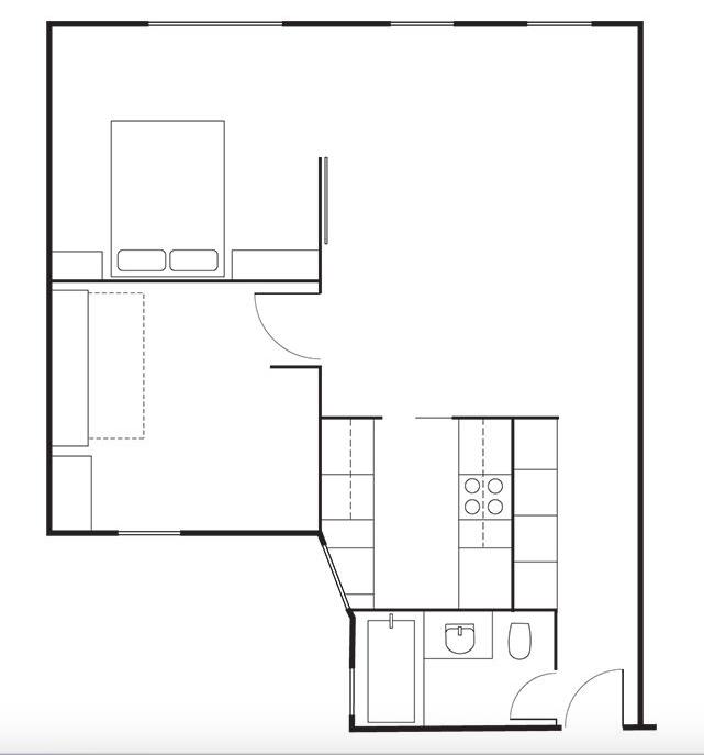 David-Friedlander-Jacqueline-Schmidt-Brooklyn-apt floor-plan   Remodelista