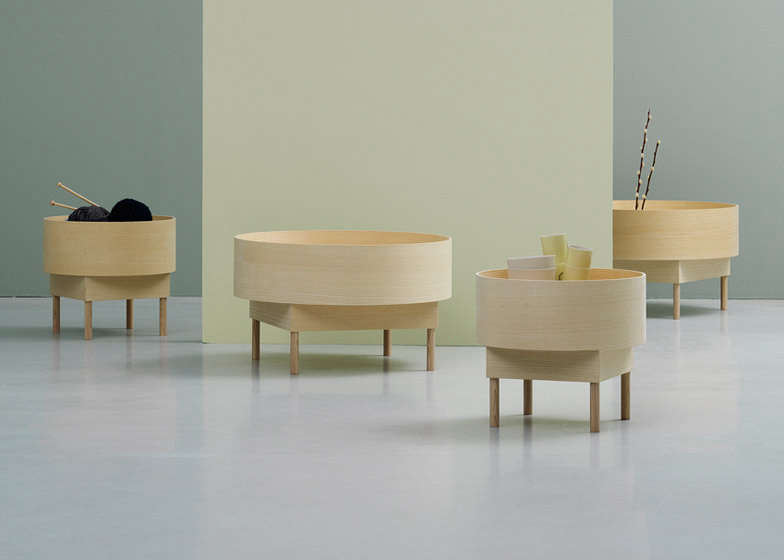 Fogia Bowl Side Table