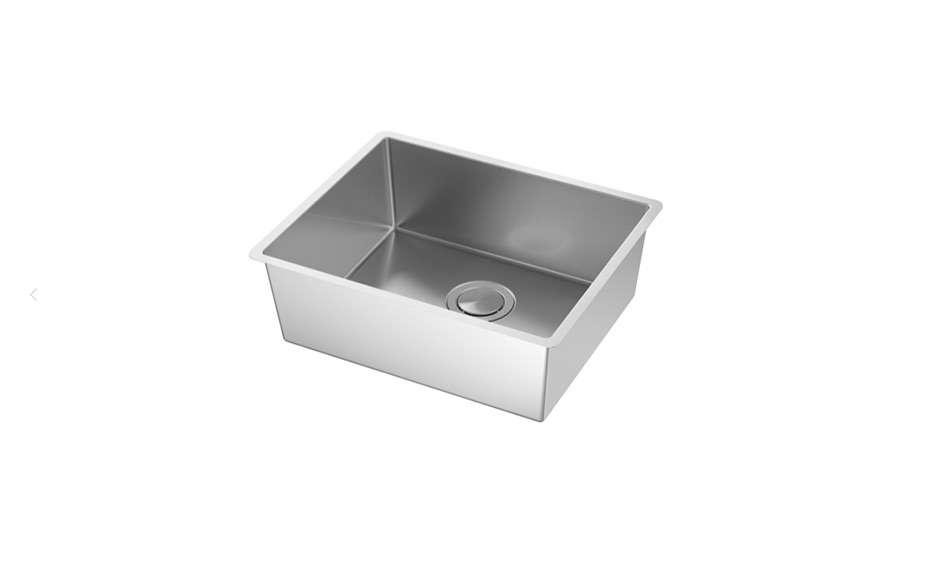 Ikea's budget Norrsjön stainless steel sink is $215.50.