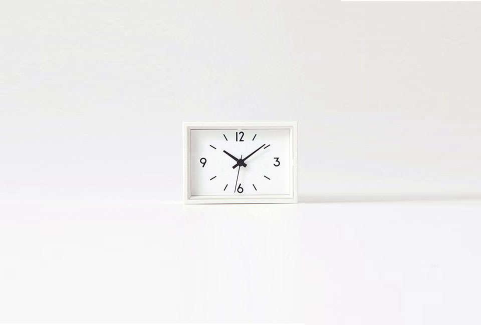 Muji Mini Magnetic Clock