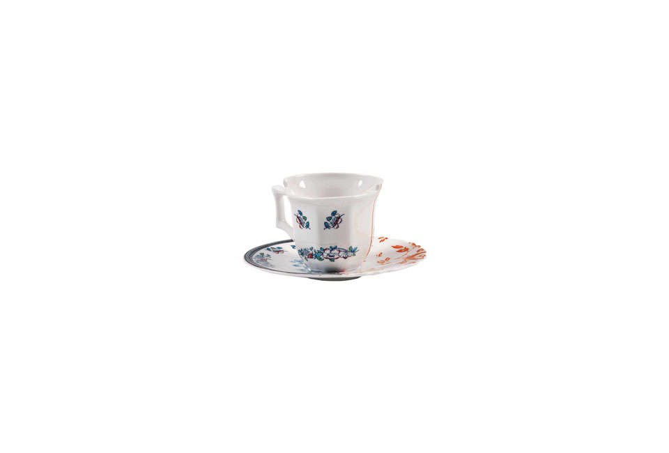 Seletti Hybrid Leonia Cup and Saucer