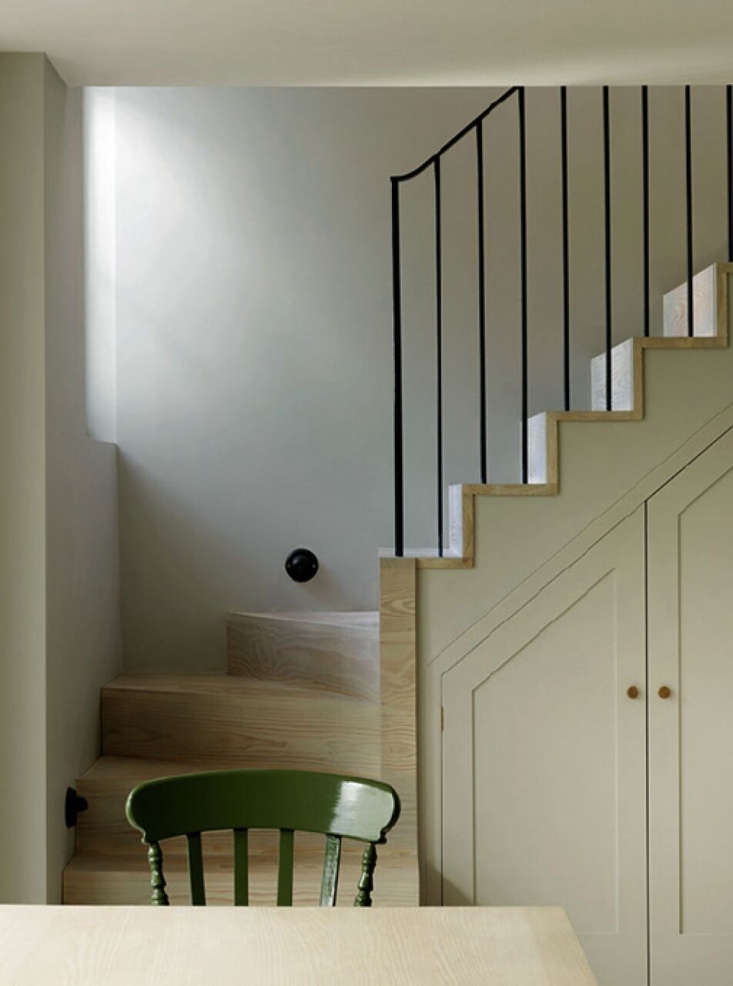 Charles Mellersh's Notting Hill Apartment Stairs