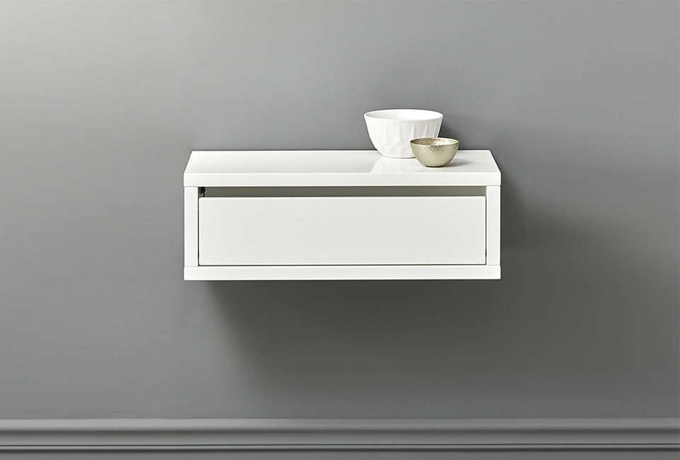 CB2 Slice Wall-Mounted Shelf