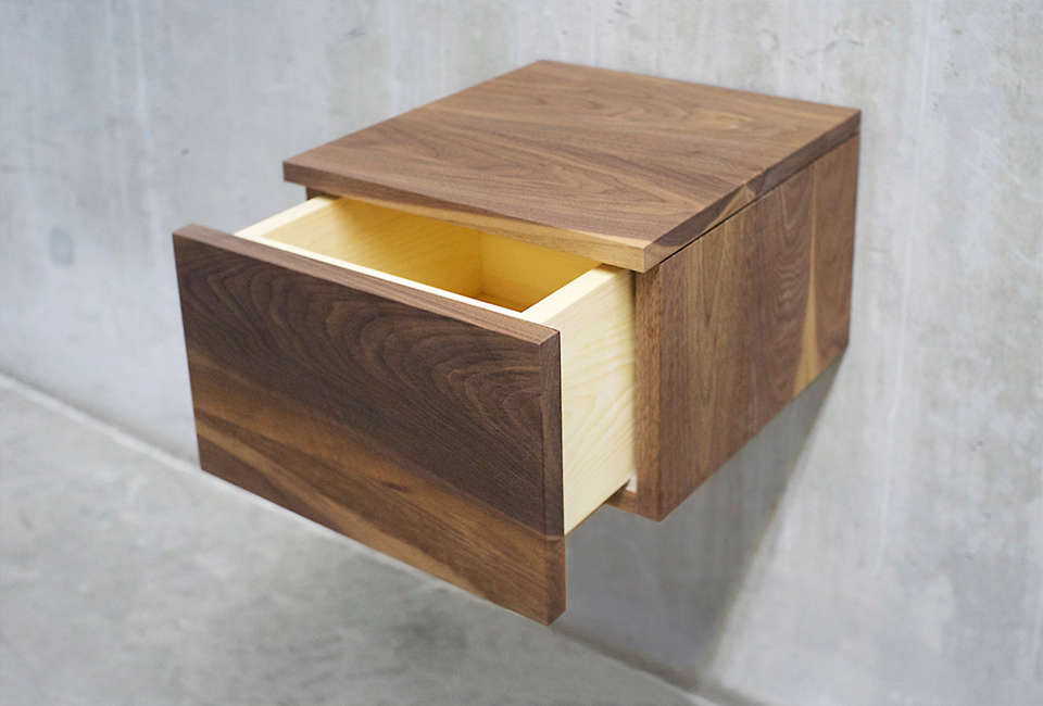 Solid Wood Limited Nightstand