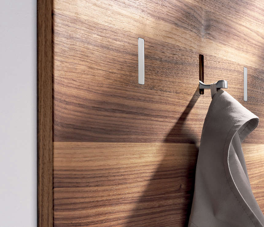 High/Low: Space-Saving Retractable Wall Hooks - The Organized Home