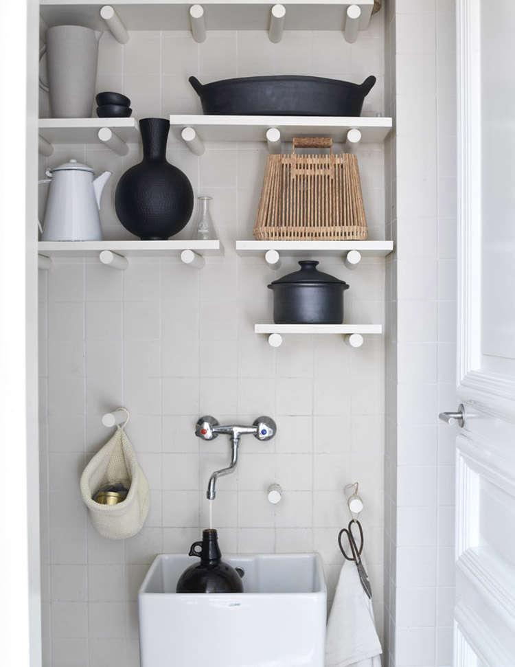 Utility Sink DIY Idea by Kim Timmerman