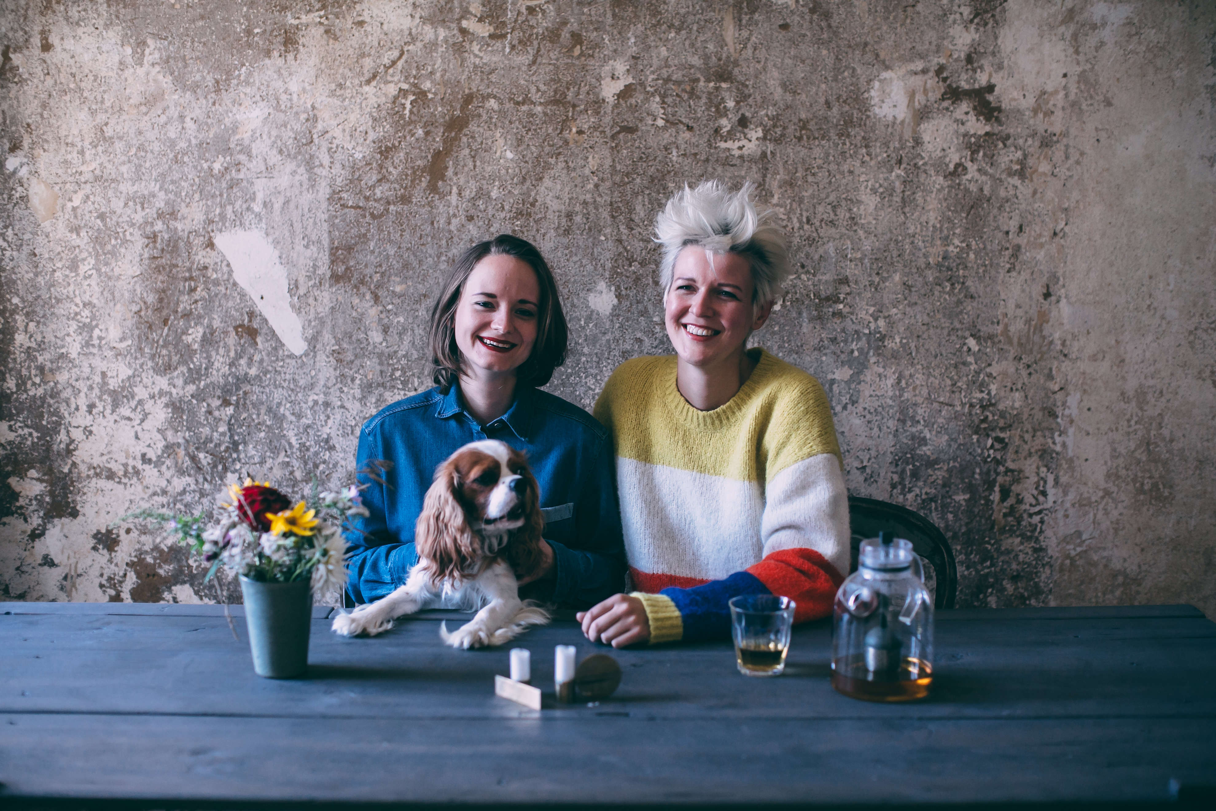 Laura Muthesius and Nora Eisermann, the creative couple behind Our Food Stories, photo by Ezgi Polat | Remodelista