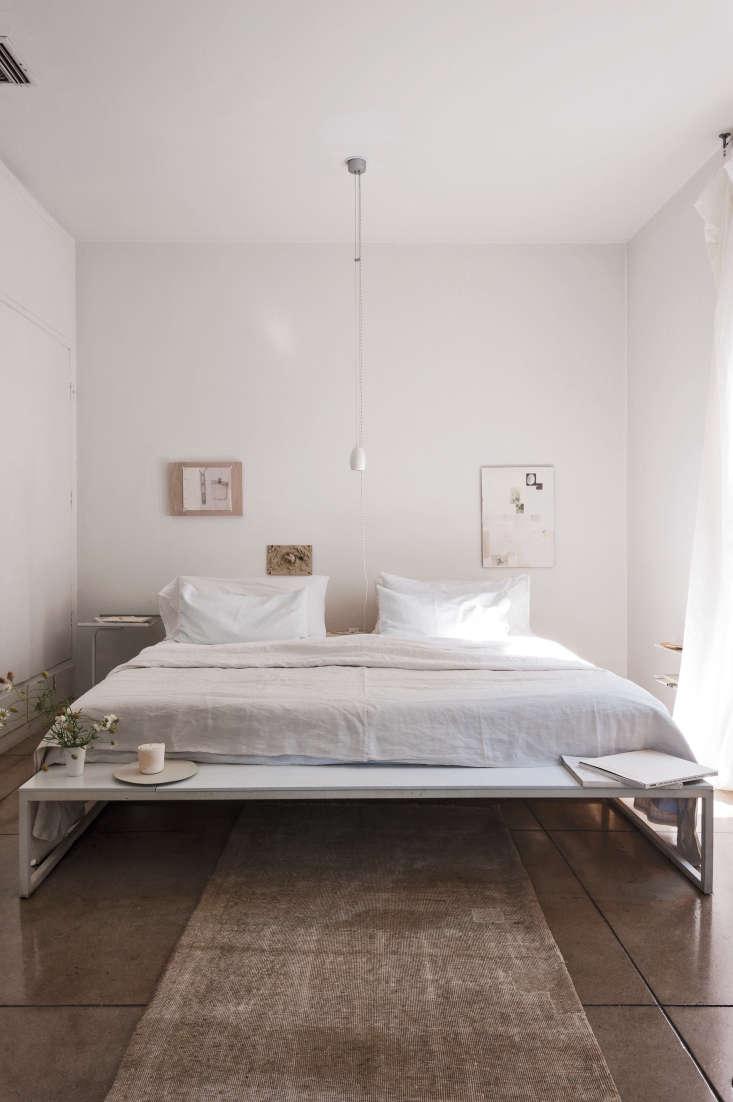 Michaela Scherrer LA white bedroom