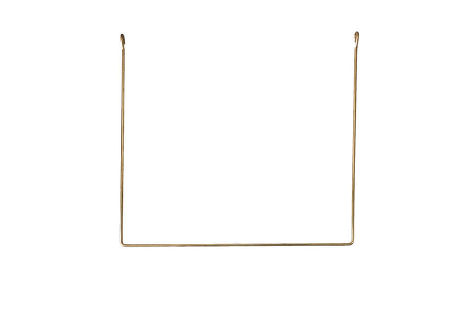 Annaleena's Hem Linear Brass Rail