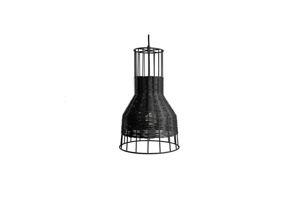 Blu Dot Laika Small Pendant Light in Black