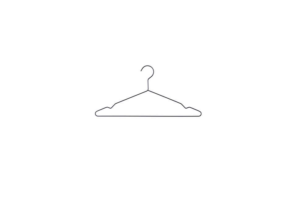 HAY Black Wire Hangers
