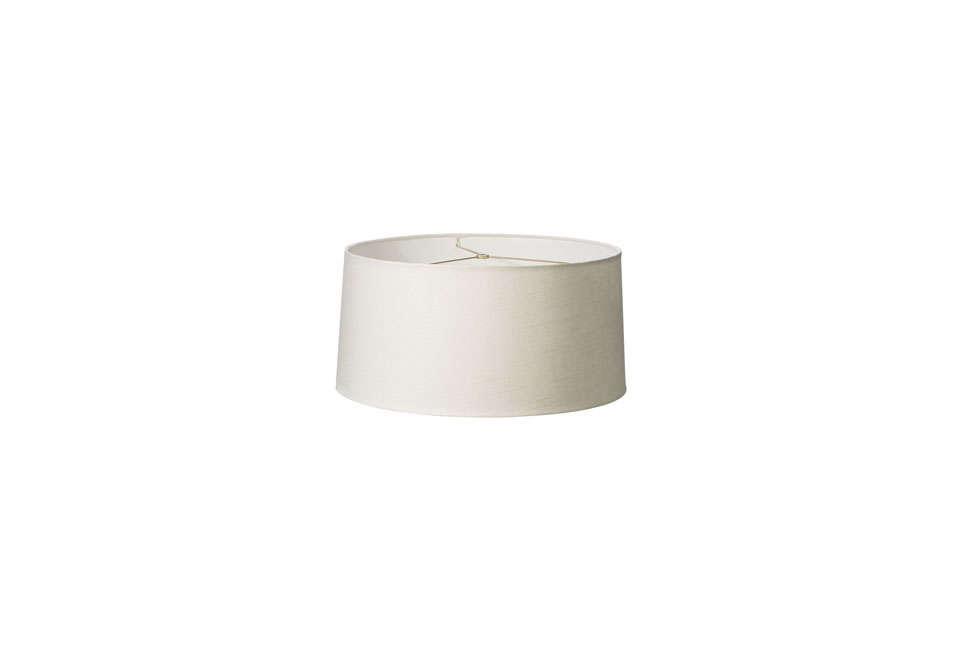 Rejuvenation Medium Ivory Linen Shade