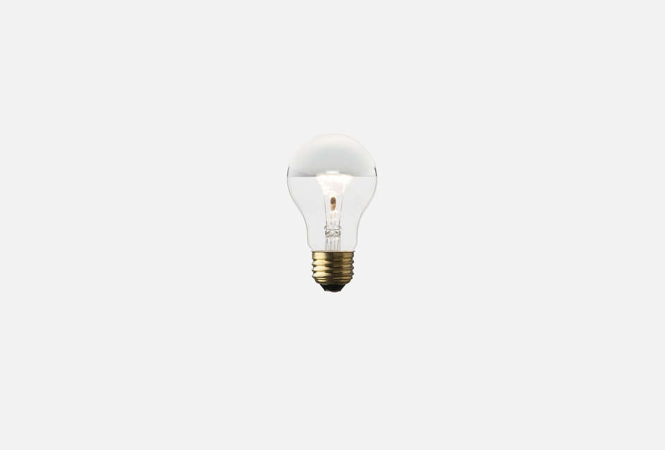 Schoolhouse Electric A9 Silver Tipped Light Bulb