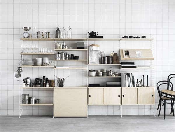 String modular storage system from Sweden.