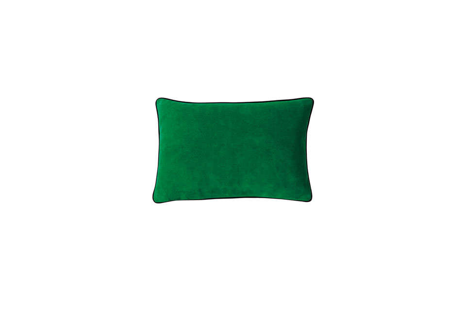 Serena & Lily Lumbar Pillow Cover in Malachite