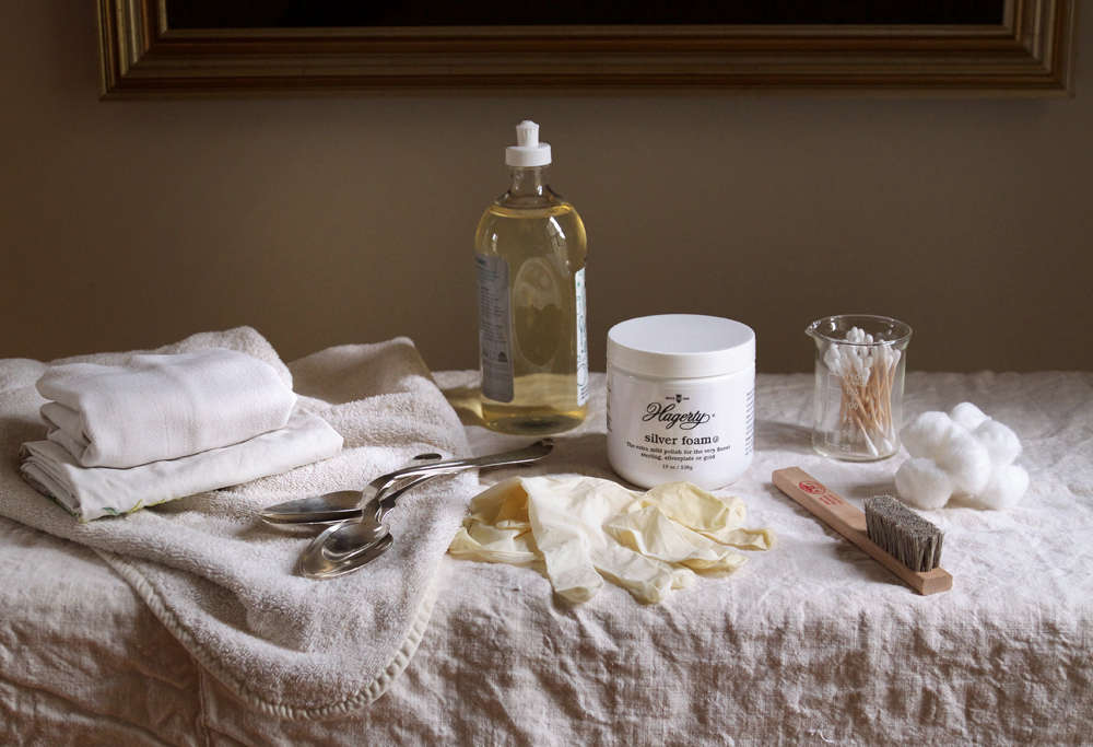 Silver Care and Polish Supplies