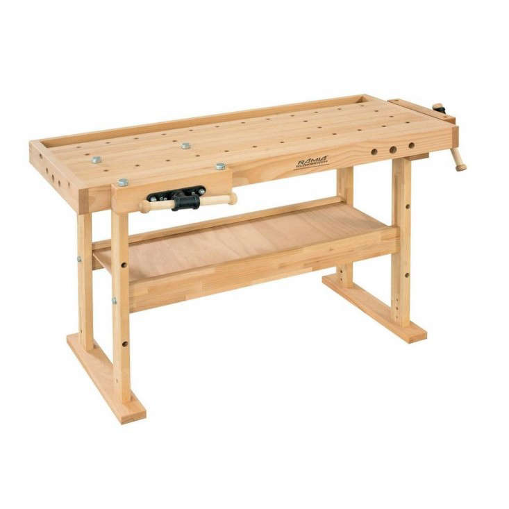 solid beech top workbench Home Depot