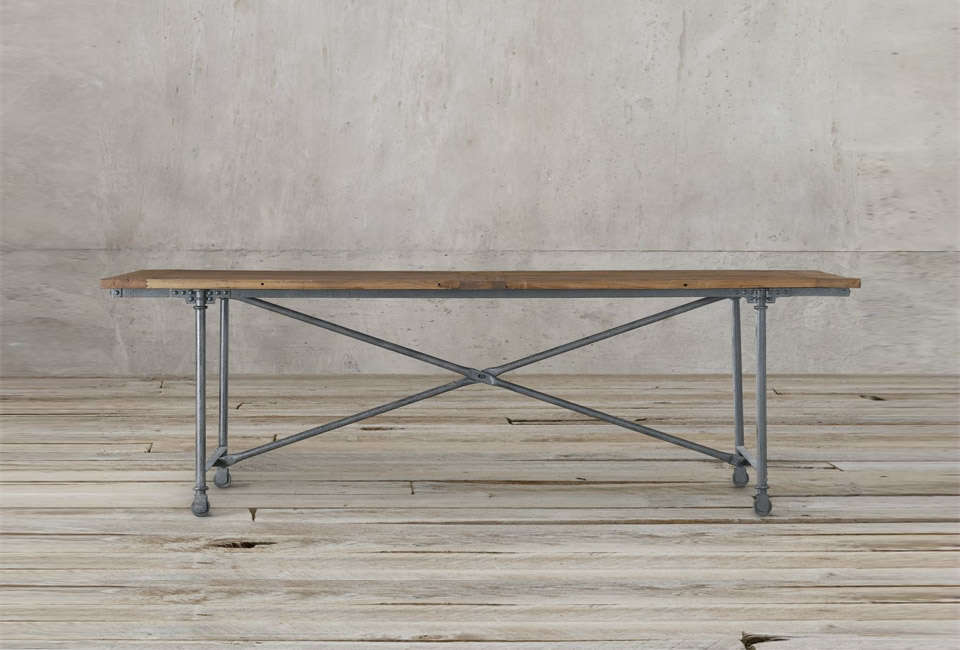 Restoration Hardware Flatiron Rectangle Dining Table