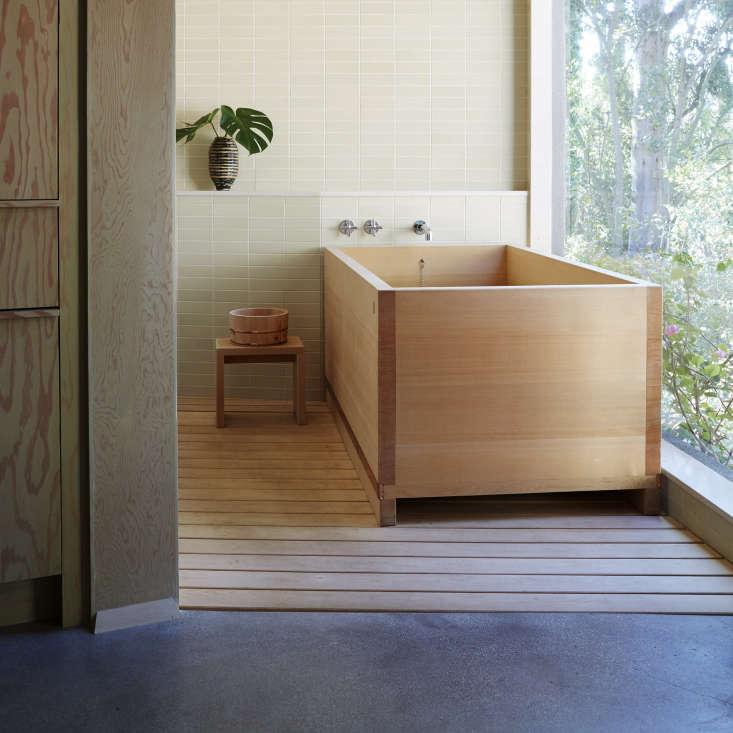 Pamela Shamshiri Japanese bathroom in LA, via Rizzoli, The Perfect Bath by Barbara Sallick.