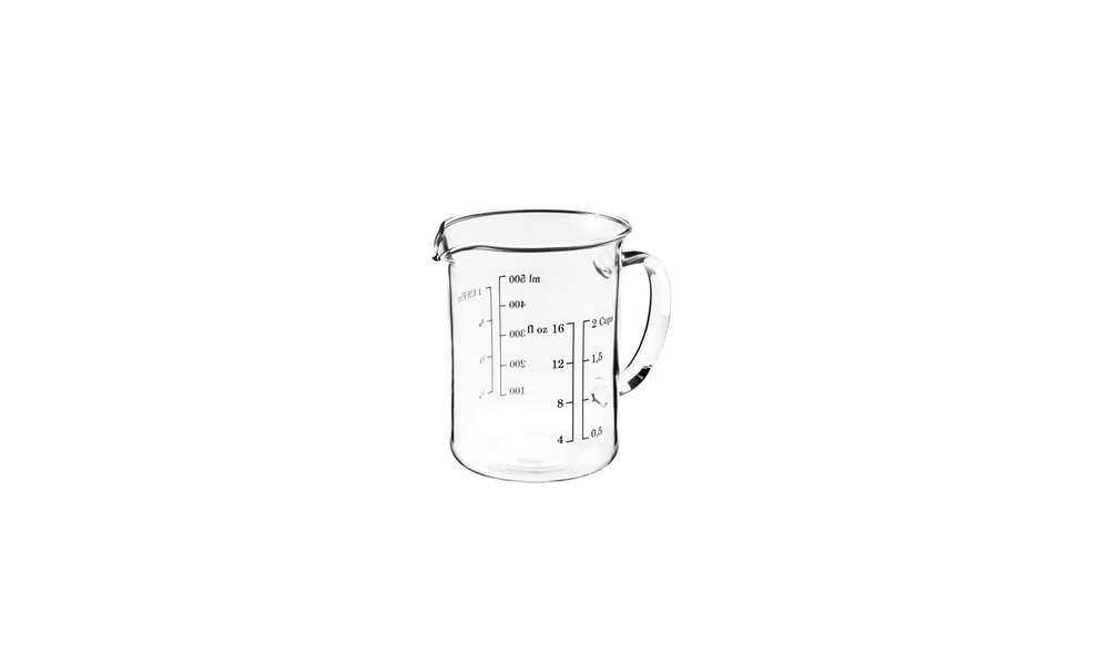 Nothing is more than $15 in this helpful roundup ofIkea Essentials: Editors' 10 Favorite Kitchen Tools. This streamlined measuring cup is just $3.99.