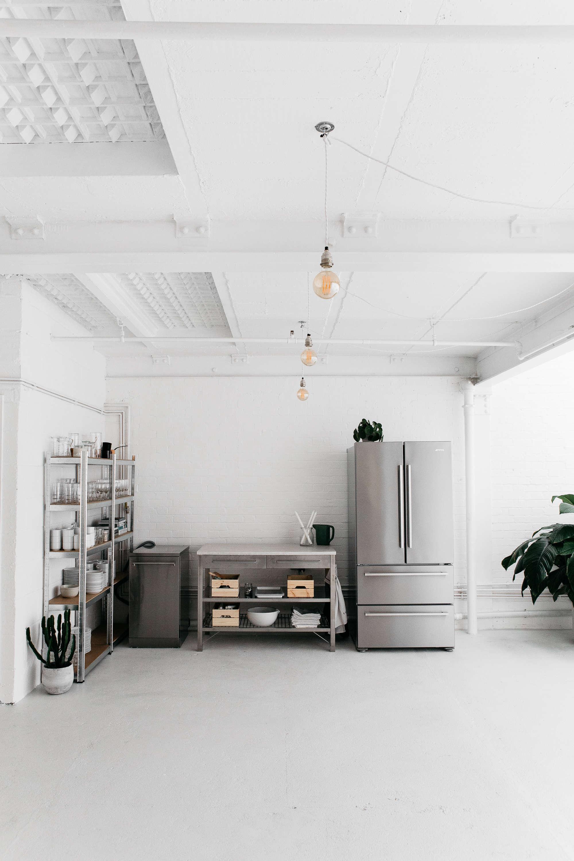 Rye London All White Kitchen