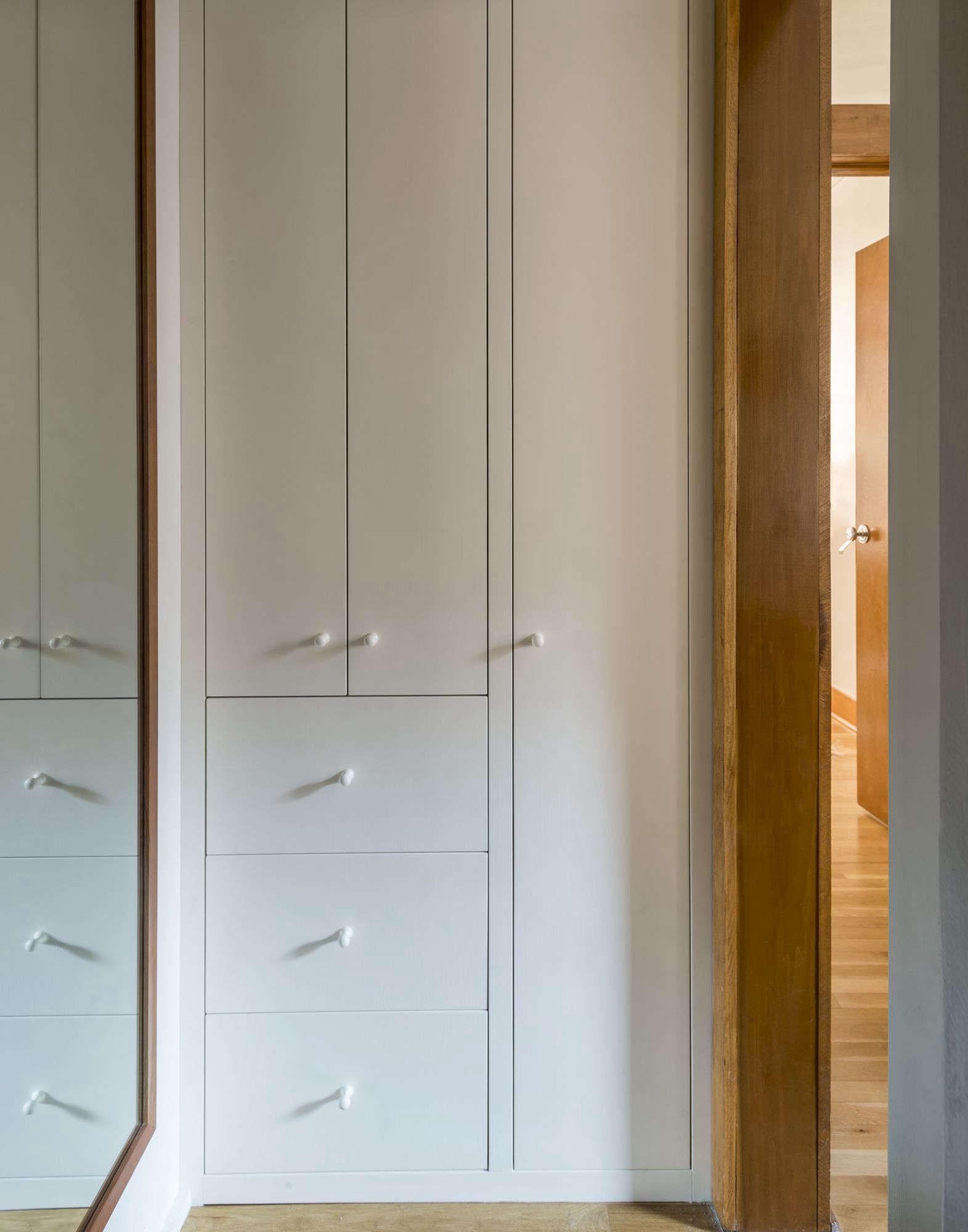 Workstead Design Bathroom Built-In Storage Cabinet, Mathew Williams Photo